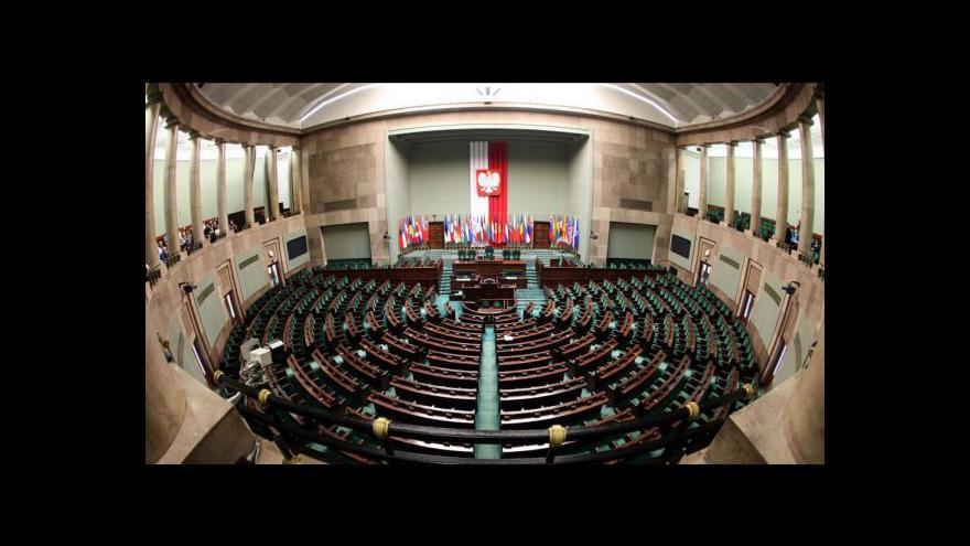 Video Studio ČT24 o polských volbách