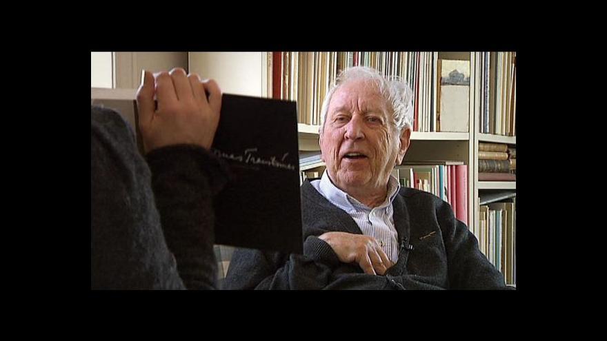Video Tomas Tranströmer - portrét