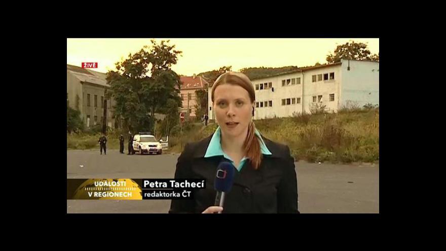 Video Petra Tachecí živě z Ústí nad Labem