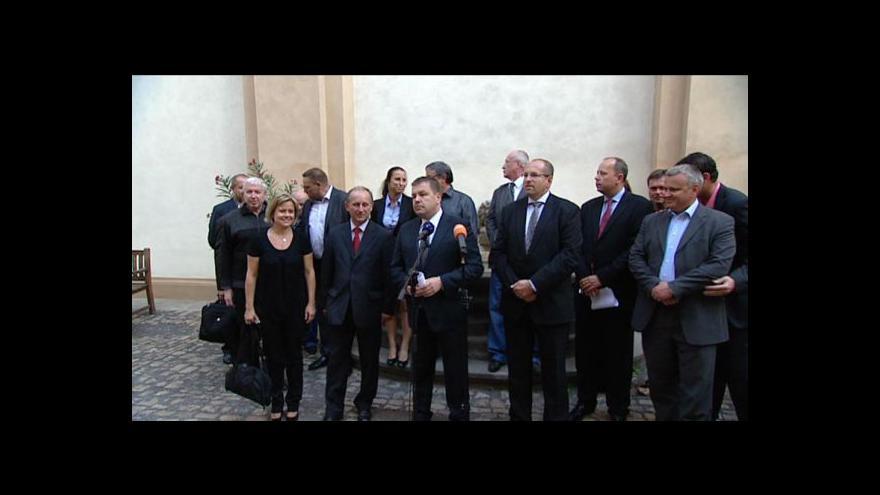 Video Brífink Petra Tluchoře a Ivana Fuksy