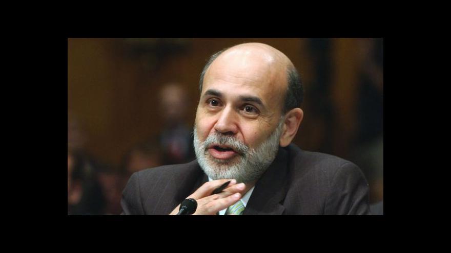 Video Ekonomika USA stagnuje