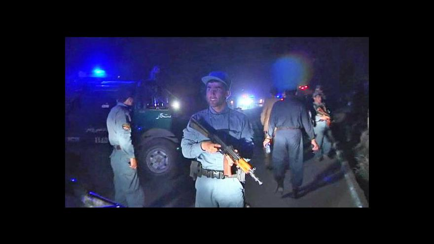 Video V Afghánistánu pokračuje vyšetřování vraždy Rabbáního
