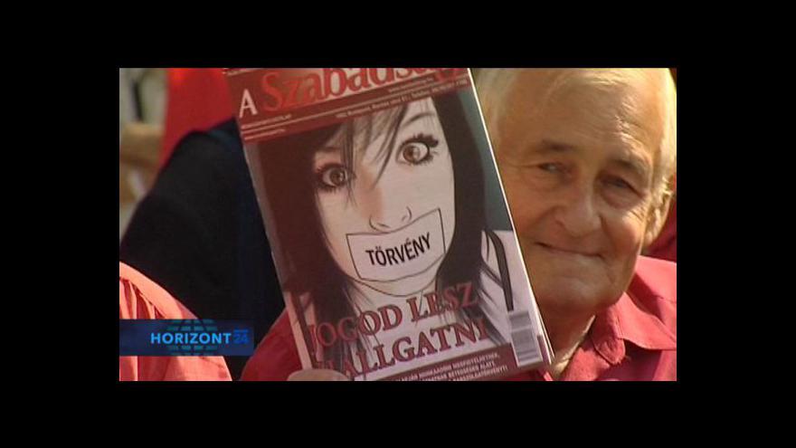 Video Reportáž o maďarských protestech