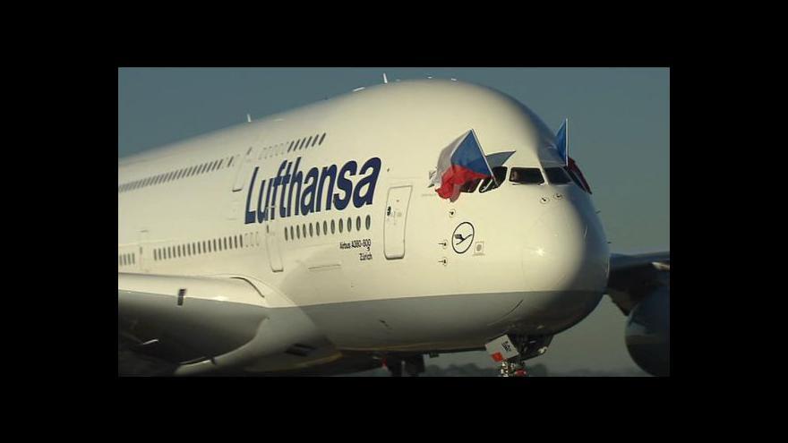 Video Historie Airbusu: Reportáž Vandy Kašové a Lucie Edrové