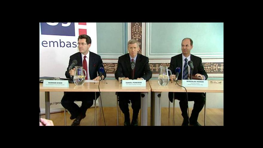 Video Brífink o americko-české spolupráci v oblasti jádra