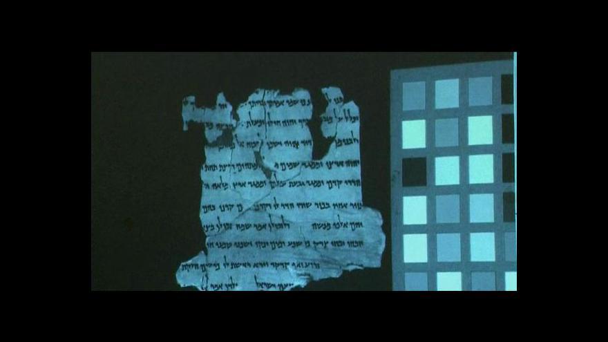 Video Kumránské svitky jsou na webu