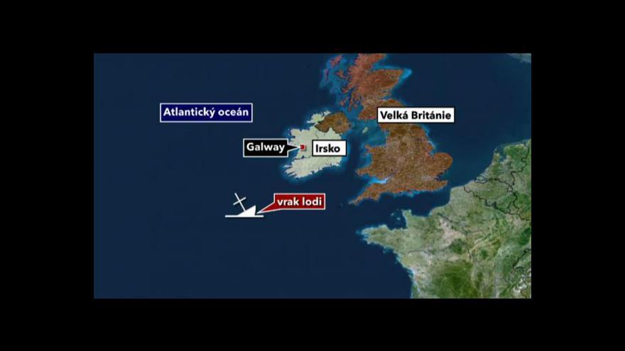 Video Loď Gairsoppa bude vyzdvyžena ze dna Atlantiku