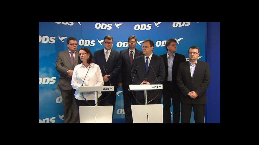 Video Brífink po jednání výkonné rady ODS