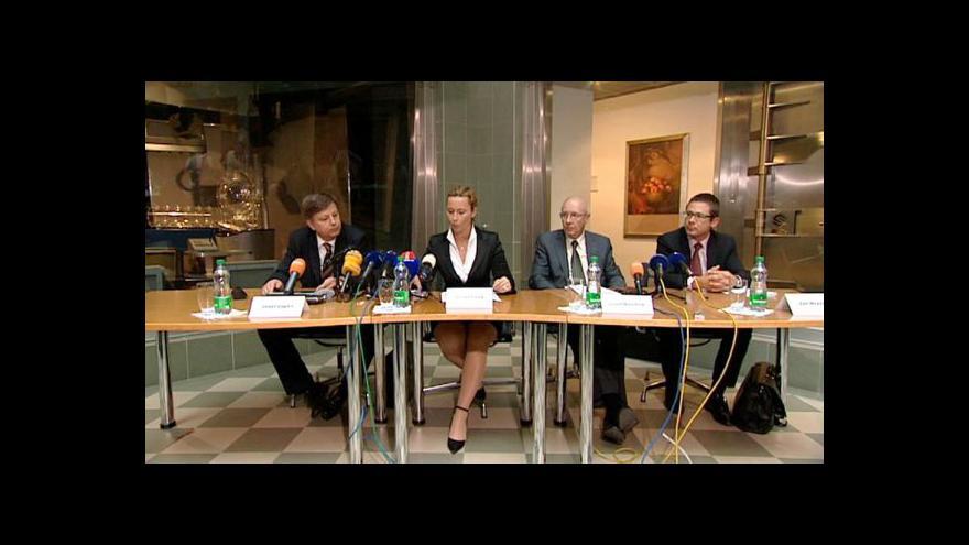 Video Brífink insolvenčního správce k prodeji Sazky