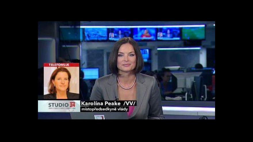 Video Karolína Peake k volbě prezidenta v roce 2013