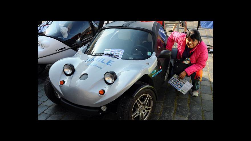 Video Evropský závod elektromobilů Wave 2011