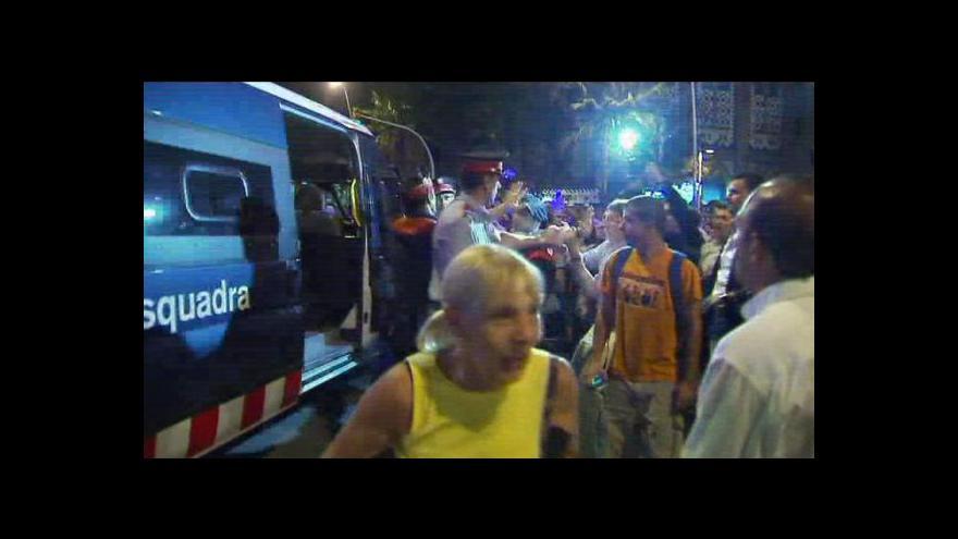 Video Poslední býčí zápas v Katalánsku skončil potyčkou