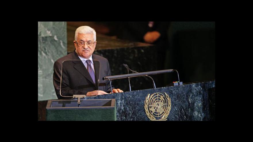 Video Projev Mahmúda Abbáse v OSN