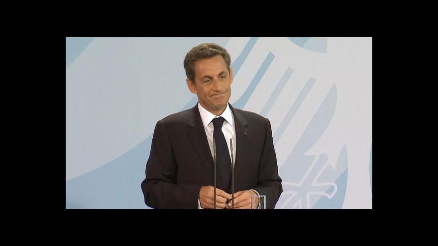 Video Studio ČT24 o Sarkozyho aféře