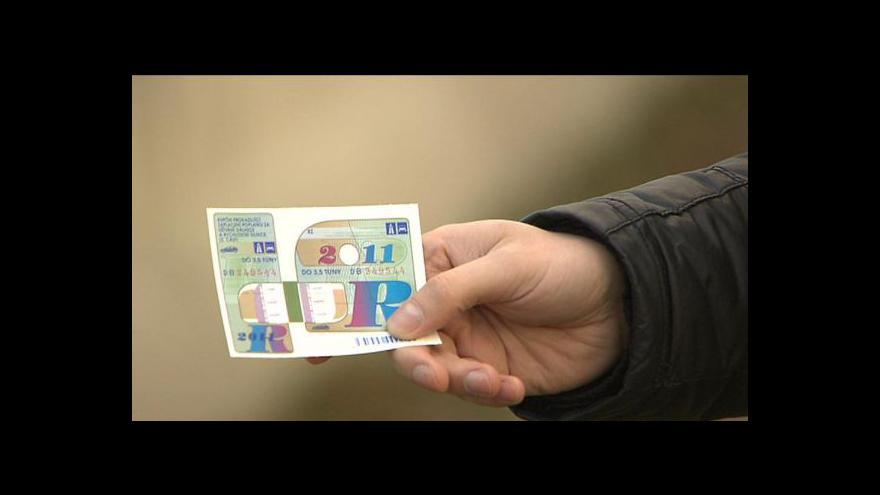 Video Dálniční známky příští rok podraží