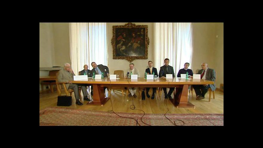 Video Tisková konference RVŠ