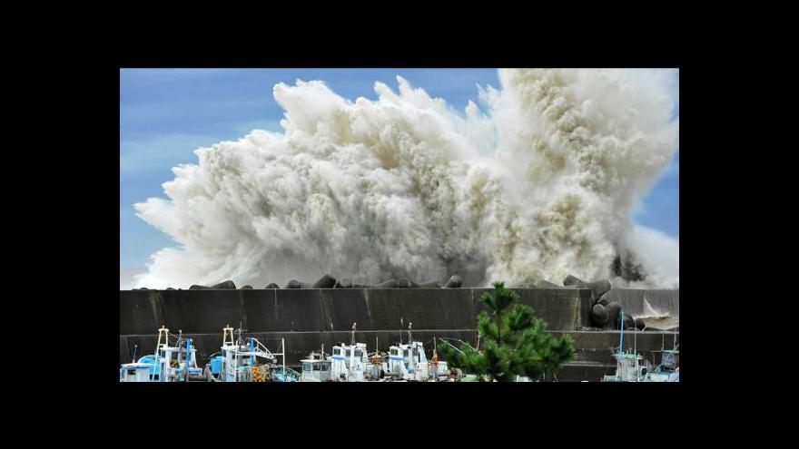 Video Japonsko ohrožuje tajfun Roke