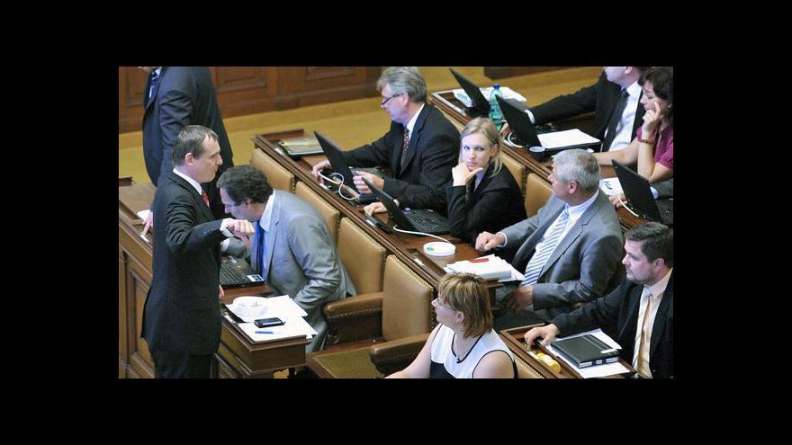 Video Reportáž o zasedání sněmovny