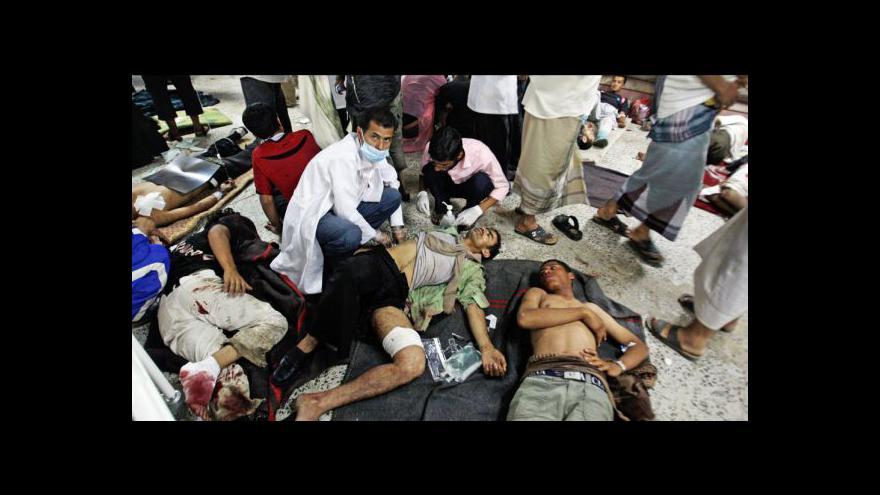 Video Nepokoje v Jemenu si vyžádaly na tři desítky mrtvých