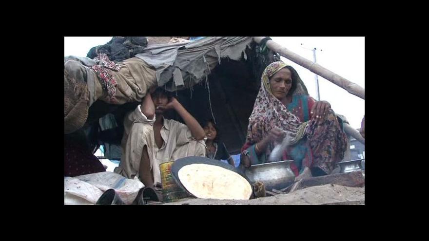 Video Záplavy v Pákistánu
