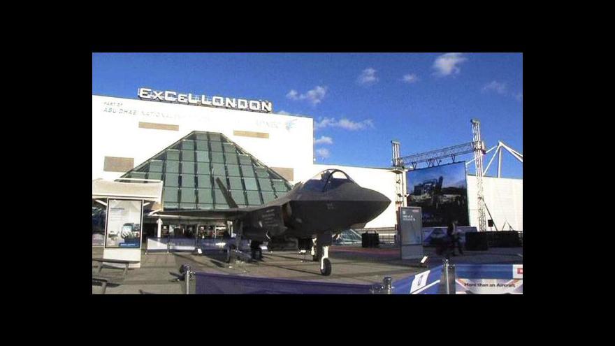 Video V Londýně končí zbrojní veletrh