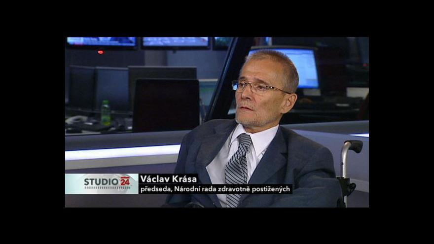 Video Studio ČT24 s Václavem Krásou a Jaromírem Drábkem