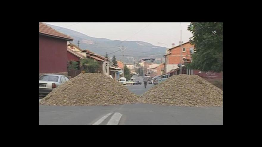 Video Napětí na kosovsko-srbské hranici roste