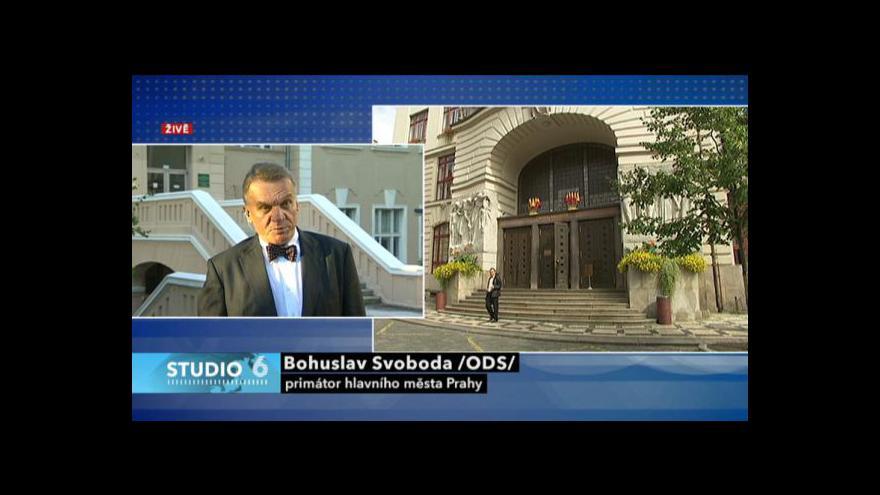 Video Bohuslav Svoboda ve Studiu 6