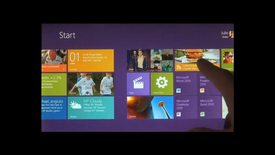 Video Představení Windows 8