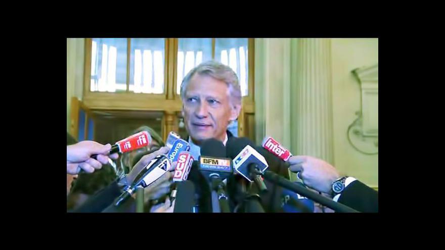 Video Odvolací soud potvrdil zproštění viny de Villepina