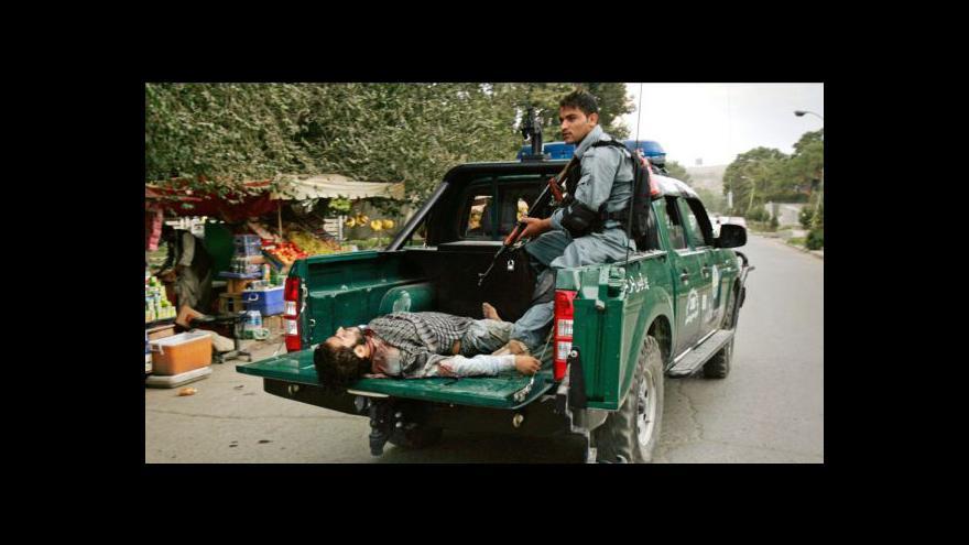 Video Útok Táibánu na Kábul skončil