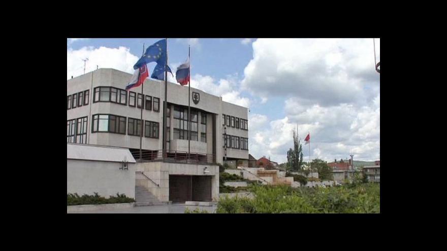 Video Telefonát Olgy Bakové a rozhovor s Petrem Justem