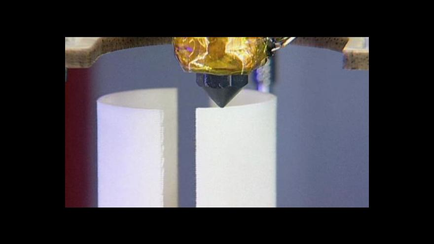 Video 3D tiskárny