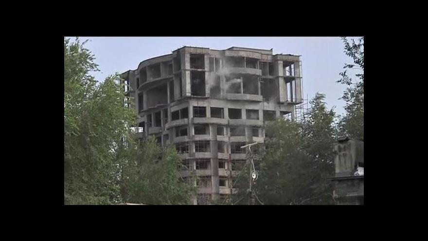 Video Tálibán útočil v centru Kábulu