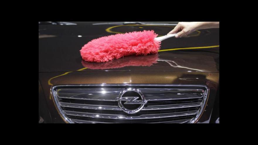 Video Opel na autosalonu ve Frankfurtu