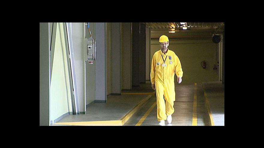 Video Studio ČT24 o výbuchu v jaderném zařízení ve Francii