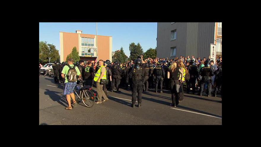 Video Situace na Šluknovsku je začarovaný kruh