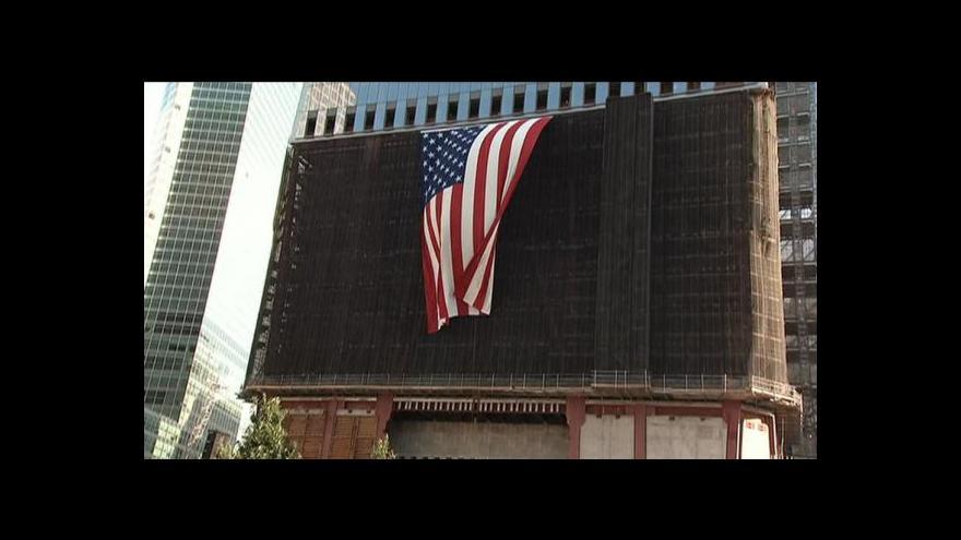 Video Spojené státy vzpomínaly na oběti teroristů