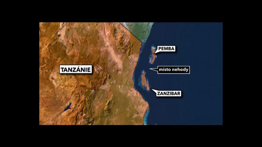 Video Po potopeném trajektu u Zanzibaru zůstalo přes 200 mrtvých