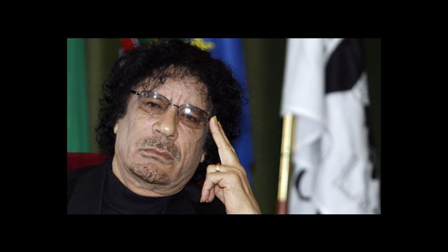 Video Kaddáfí boj o Libyi nevzdává