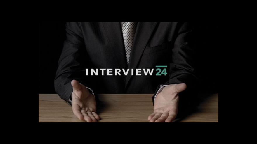 Video Interview ČT24 s Petrem Gazdíkem