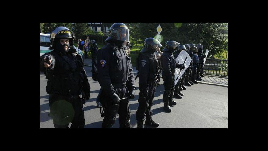 Video Nepokoje na Šluknovsku tématem Událostí, komentářů