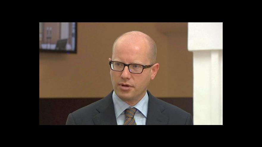 Video Brífink ČSSD po jednání sněmovny