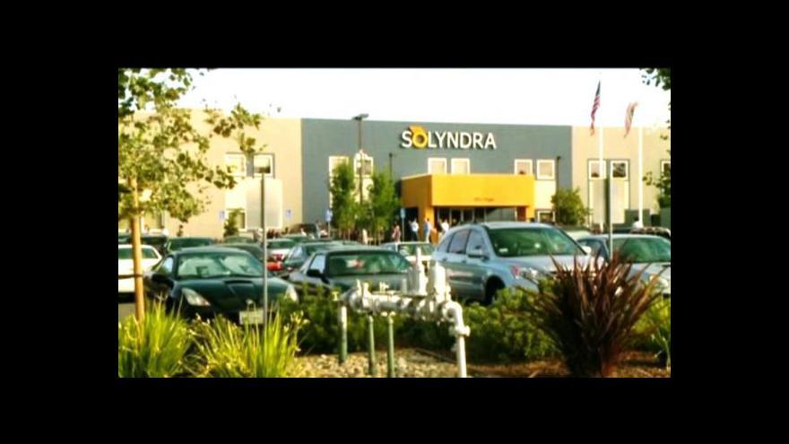 Video Solární společnost Solyndra zastavila výrobu