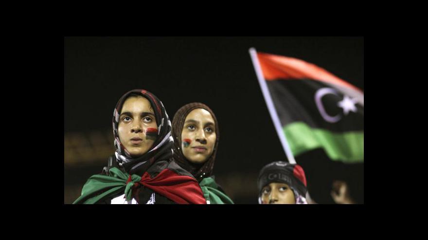 Video Kaddáfí se může skrývat v poušti