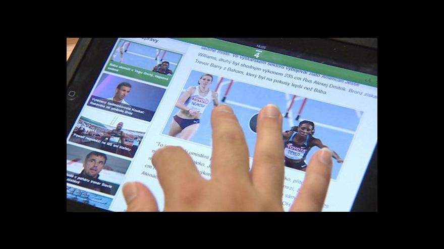 Video ČT4 na iPadech