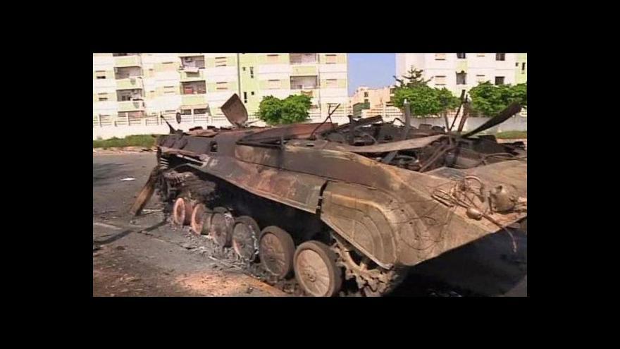 Video Kaddáfí se nevzdá