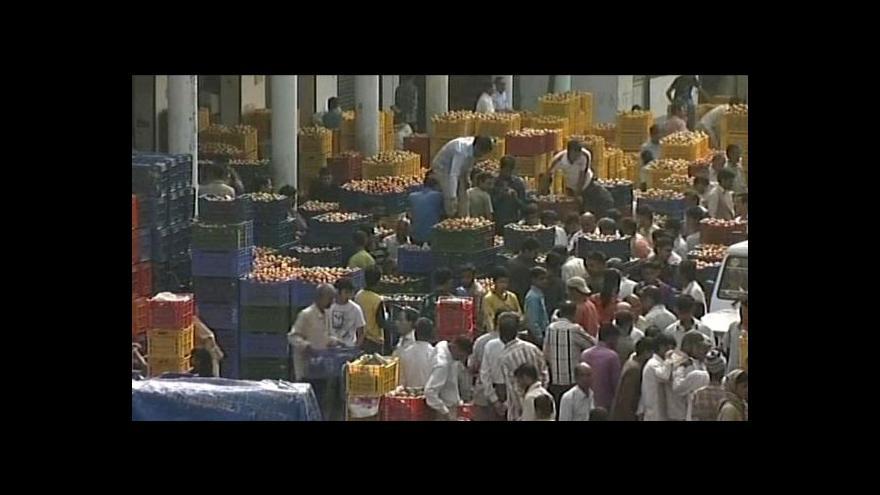 Video Zkažená indická zelenina