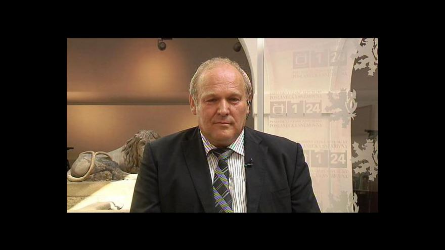 Video Stanislav Huml ve Studiu ČT24