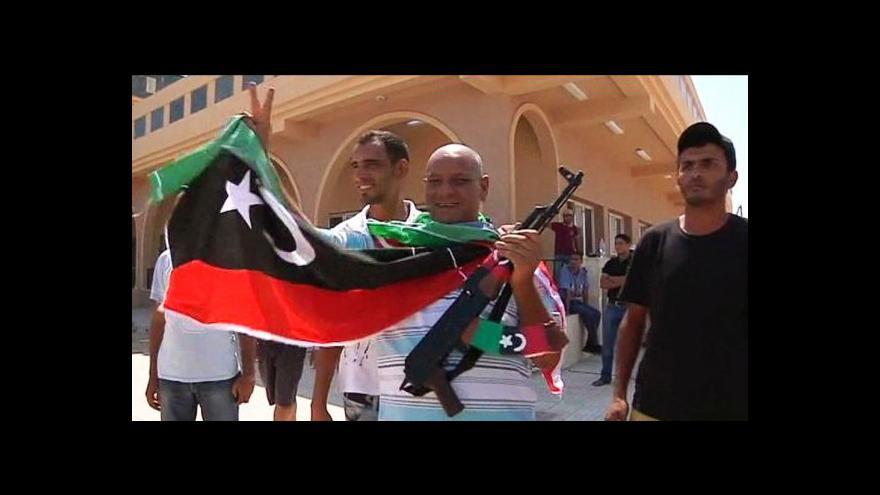 Video Povstalci žádají NATO nadále o podporu
